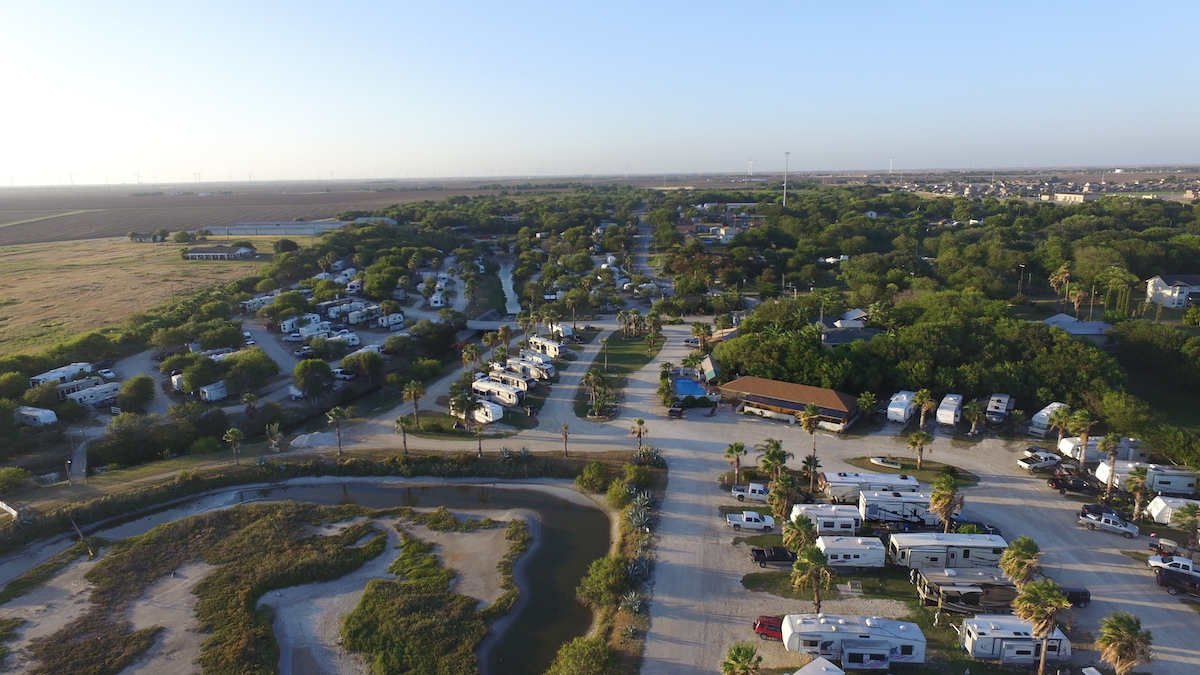 Overview of Sea Breeze RV Community Resort